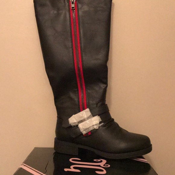 e7c6012b0d0 Journee Collection Shoes   Brand New Wide Calf Black Boots The Red ...